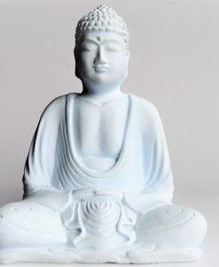 Buddha Statue Small White