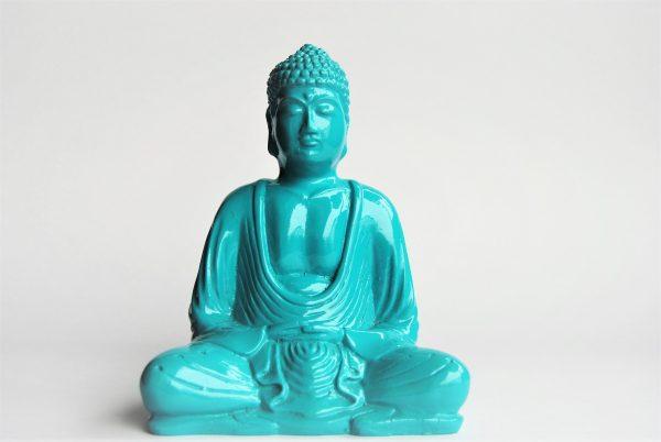 Buddha Statue Small Blue