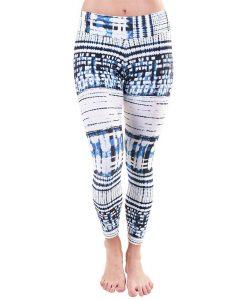 Patterned Yoga Legging Pixel Wild