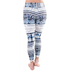 Patterned Yoga Legging Pixel Wild