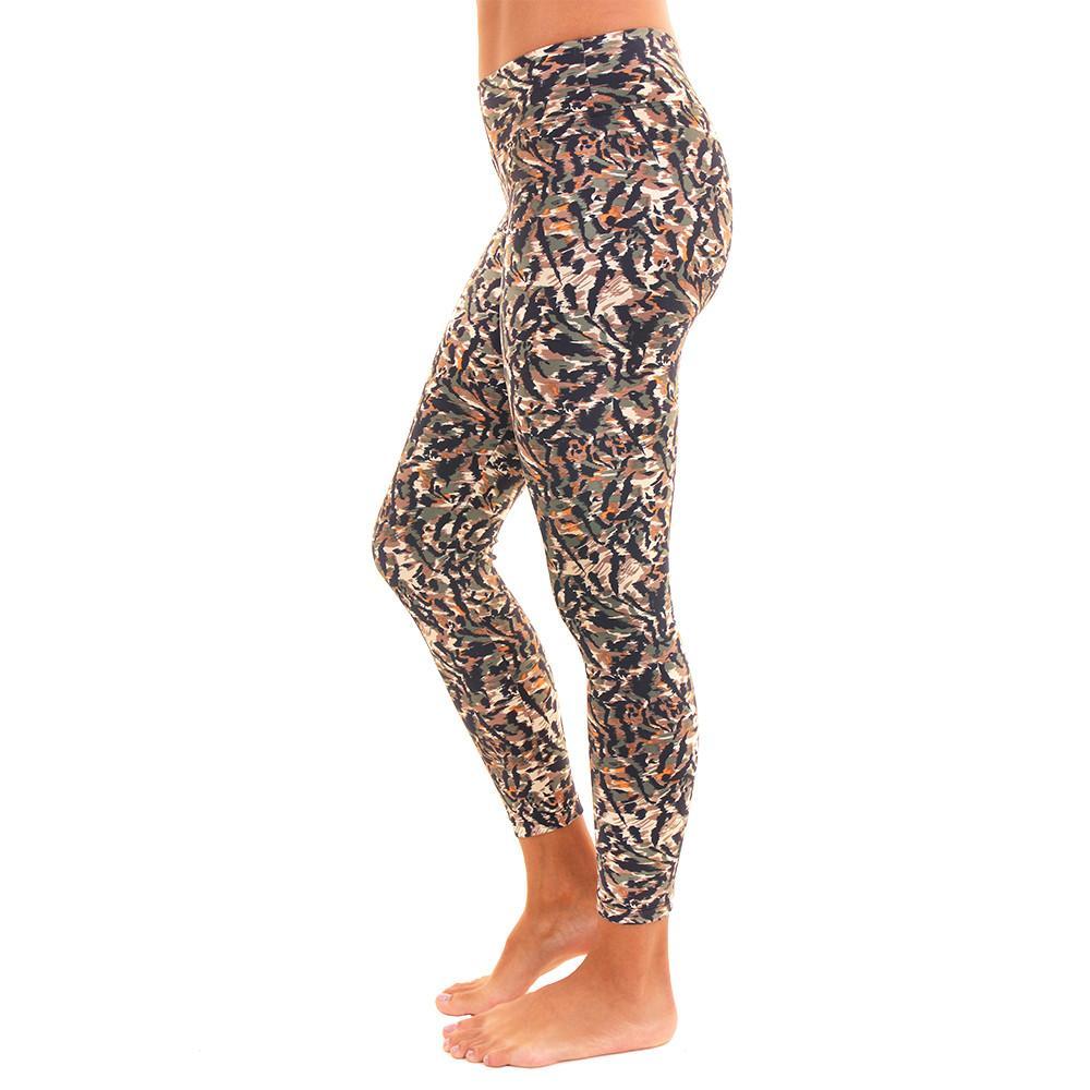 Patterned Yoga Legging Suddan