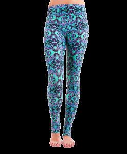 Patterned Yoga Legging Wild Magic